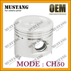 Four Stroke Piston and ring set for Honda CH50