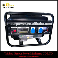 Europen Market HD model 2.5kw Rated Power Gasoline Generator (EC3500CX) with CE and Soncap Certificate