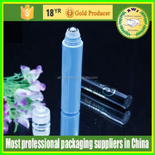 15ml Bamboo shell empty plastic roll on bottles for essential oils