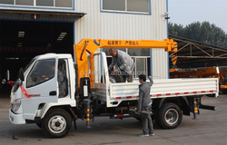 Sq8Zk3Q Dongfeng Second Hand Truck Cranes For Sale