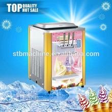 guangdong melhor fonte da fábrica de máquina de sorvete modelo de tabela