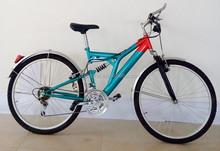 "High strength Steel 26"" 18SP Suspension Mountain Bike"