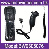 DA152 2in1 nunchuck remote controller for wii