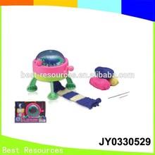 Gros et hotselling enfants Toy tissé Machine de laine, Maison de jeu en plastique ensembles de jouets jouet électrique