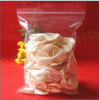 Yiwu market best sale soft and flexible logo clear plastic zippered storage bag wholesale