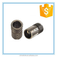 45 degree helical shaft warm gear differential bevel gear