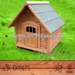 A-Frame Top Wooden Dog Kennel DFD3006