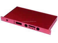 aluminum high technolody anodize 1u rackmount chassis /1u rack mount server chassis,case/cabinet/customized 1u 1.5u 2u chassis