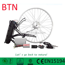 rear/front wheel 36v250w hub motor electric bicycle kit with battery