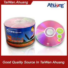 Mingsheng Competitive price blank DVD+R 8x/16x virgin material A grade