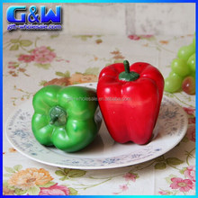 Home Decorative 8cm Artificial chili fake vegetable pepper - Red and Green