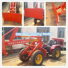 chicken dung cleaning machine tractor