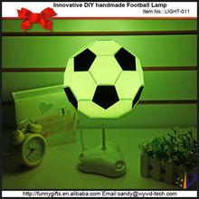 Innovative DIY Football Lamp 2015 new toys for kid