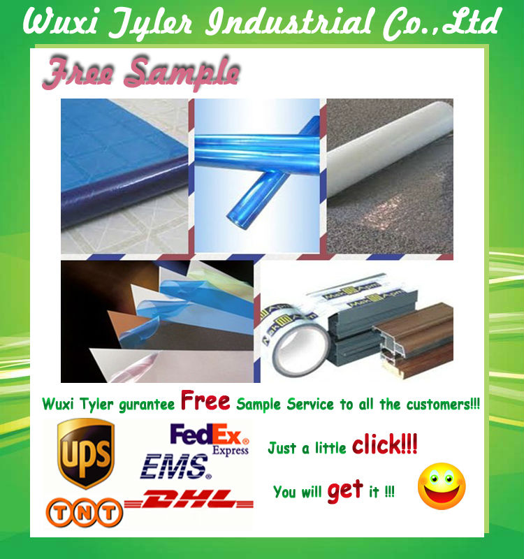 Stretch Film Type and Soft Hardness Temporary Floor Protective Film