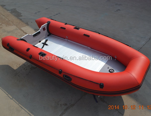 (CE)14ft folding military pvc boat inflatable for sale