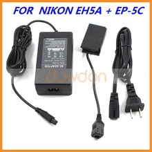 EH-5A EP-5C 9V 4.5A AC DC Adapter for Nikon 1 J1 J2 with Power Connector