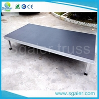 Modular Event Stage Decking System For Sale
