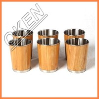 New Design Heat Retaining Bamboo Cup