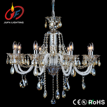 Top sell traditional crystal chandeliers light white color with cognac crystal
