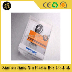 New design excellent quality plastic packaging box for phone case