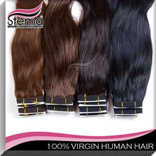 Straight virgin remy Indian human hair wholesale Dyeable No tangle No shedding african american hair extensions