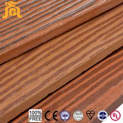 Wood Texture Cladding Batten Siding Fiber Cement Panel