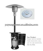 Garden Propane outdoor Gas Patio Heater (open door)