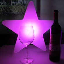 Beautiful star-shape LED decoration light/Good atmosphere LED lighting lamp