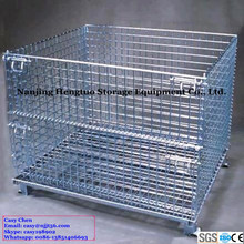 Collapsible Storage Metal Wire Cages with CE Certificate