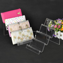 Wholesale price acrylic wallet display rack for store