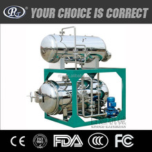 Electric And Steam Multifunction Small Retort Pressure Vessel