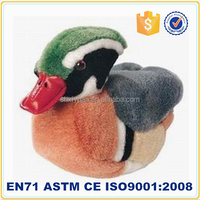2015 stuffed toys mandarin duck humming bird plush birds for sale