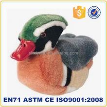 2015 stuffed toys mandarin duck humming bird plush birds for sale