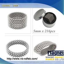 High Quality Neodymium Magic Cube Magnet, 216 pcs per set