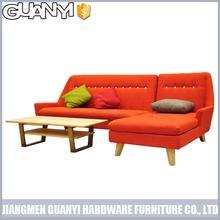 warm color latest home sofa set