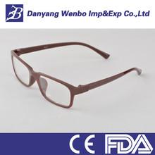 freddo nero telaio in plastica occhiali da vista per uomo
