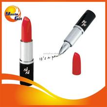 Cosmetal Promotional Lipstick Plastic Ballpoint Pen