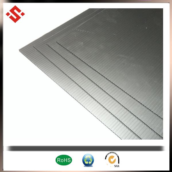 4x8 black coroplast ESD board