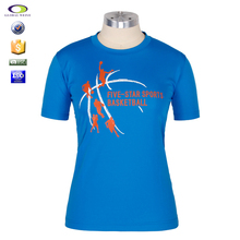 short sleeve basketball jersey color blue