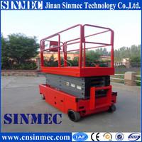 SINMEC motorcycle atv lift table platform for warehouse scissor lift SMCA204
