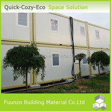Customized Fast Install Sandwich Panel Container Office Used