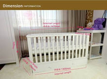 6 in 1 Sleigh Cot Bed/ Multifunctional cot bed/ NZ Safety Standard