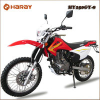 Classic Off Road Motorcycle HY250GY-8 250cc Chinese Motocross Bike 150cc Off Road Dirt Bike