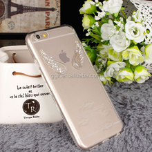 Retailer Packing Angel Wing TPU Case For iPhone 6