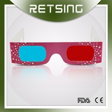 CMYK Red Cyan 3D Paper Stereo Viewer