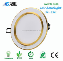 Super bright 120 degree led downlight with aluminum heat sink