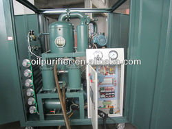 ZYD-100 oil treatment plant/Insulating oil dehydrator/ Transformer oil Clean