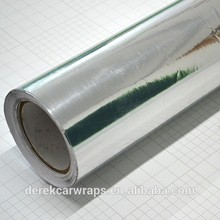 Silver Mirror Chrome vinyl For Automobile Protection