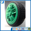 Plastic rubber wheel for toy,toy wheel