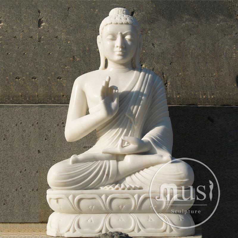 Garden Art Craft Large Stone Buddha Statue Cheap